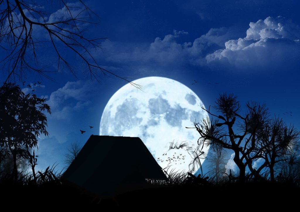 moonrise camping in bucharest