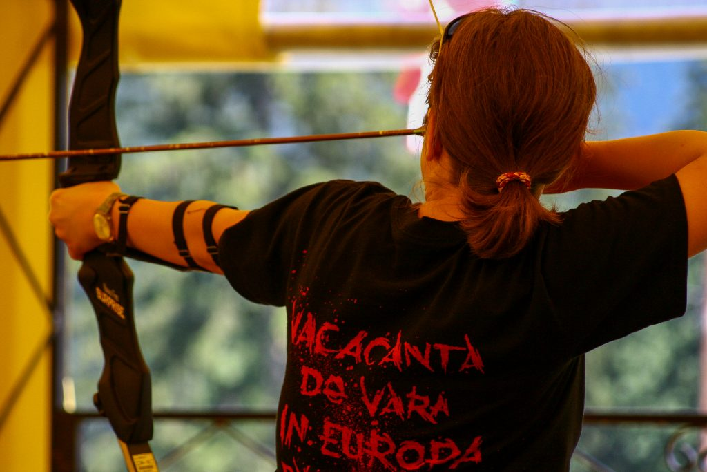 half day trips from bucharest - Rasnov archery