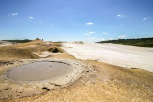must-see natural destinations around Bucharest - berca mud volcanoes