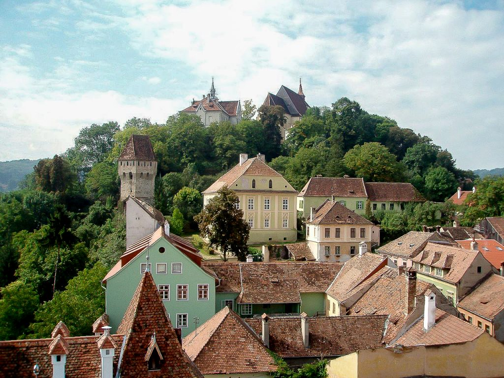 interesting facts about Romania - Sighisoara the inhabited medieval citadel